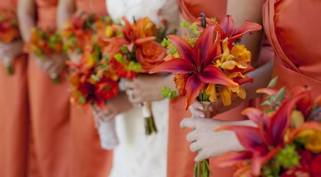 Весільні кольори 2017 року
