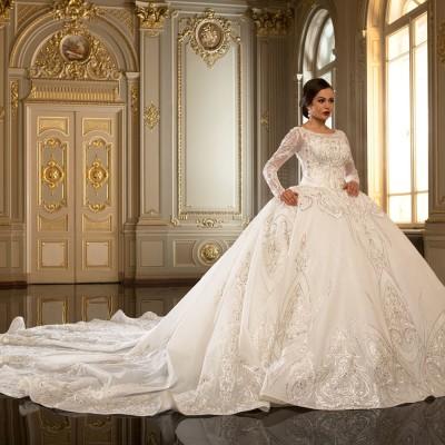 Пишні весільні сукні 2017 року